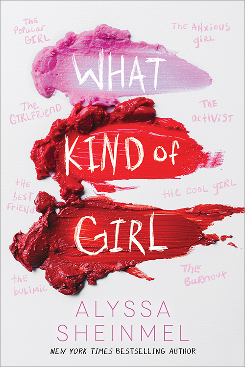 """book cover of """"What Kind of Girl"""""""