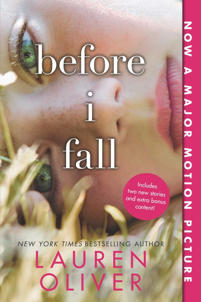 """Book cover of """"Before I Fall"""" by Lauren Oliver"""